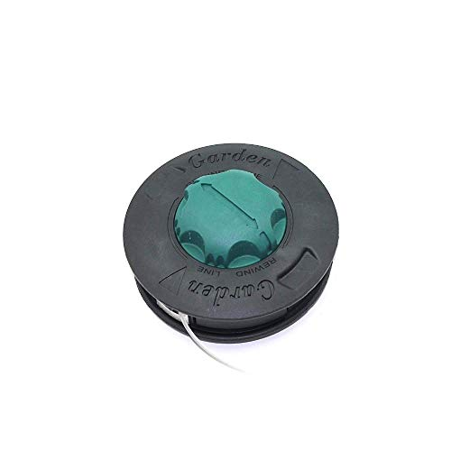 HaoYueDa Cabezal de Corte de césped M10 * 1,25 mm para OLEO Mac Tap & Go TR60E TR101E Strimmer Sparta 26TR Piezas de Repuesto de desbrozadora # 61112061A (Color : Black)