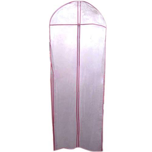 180cm Dust Cover Wedding Gown Dress bags Long Garment Cover dress cover bag Bag Semitransparent Dress Dustproof Garment Bag