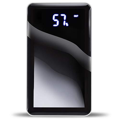 LuMy 4You Powerbank 10000 mAh a Specchietto Compatto Fast Charge Carica Veloce Compatibile con Tutti Dispositivi Samsung Apple Prodotto Certificato Ce Fcc e Rohs