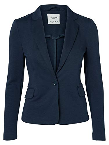 VERO MODA Female Blazer Jersey 38Total Eclipse