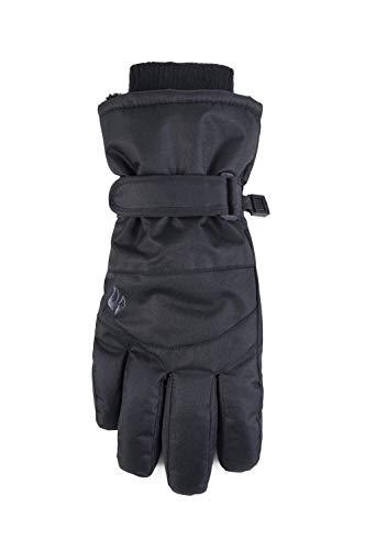 Ladies Heat Holders Heatweaver Thermal Warm Winter SKI Gloves TOG 6.8 Black (S/M)