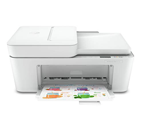 HP DeskJet Plus 4110 Multifunktionsdrucker Instant Ink Drucker Kopierer Scanner mobiler Faxversand WLAN Airprint inklusive 6 Monate Instant Ink