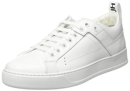 HUGO Damen Mayfair LaceSneakerC Sneaker, White100,39 EU, 39