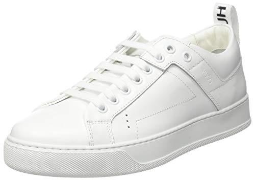 HUGO Herren Mayfair Lacesneakerc Sneaker, White100, 36 EU