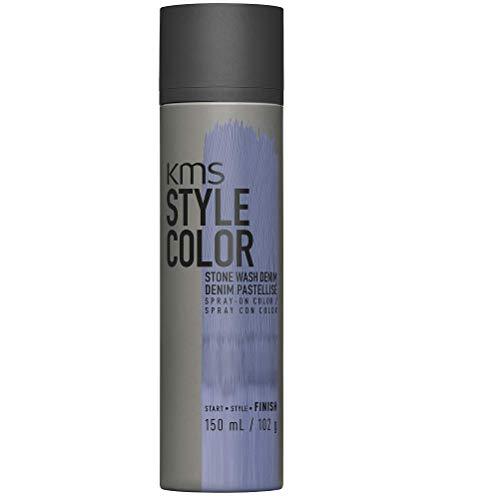 KMS California Style Color Stone Wash Denim temporäres Farbspray - Haarfarbe ohne sich festzulegen, 150 ml
