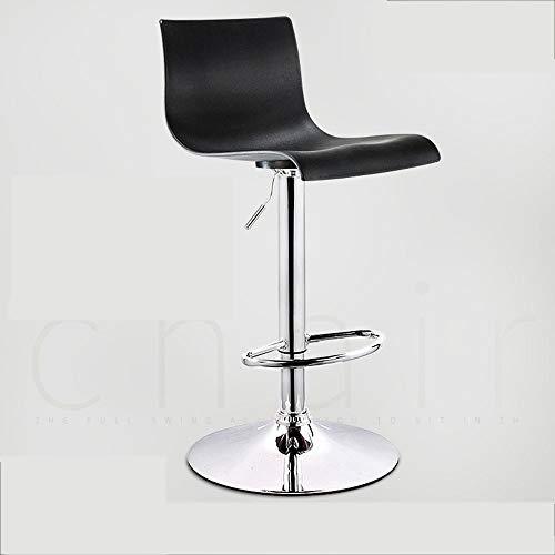 Barstools-BYTGK barkruk ABS zithoogte 60-80 cm verstelbare kruk kruk kruk met metalen voetensteun ontbijt prinses voor de Domestica keuken J1216
