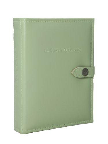 Little Shop of Il Piccolo Libro degli Orecchini, Colore: Verde - Custodia per Orecchini