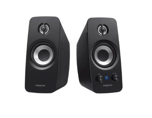 Creative T15 - 2.0 Bluetooth-Lautsprechersystem, schwarz