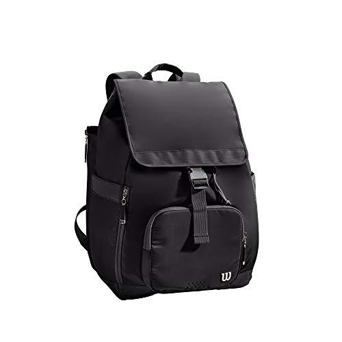 Wilson Women's Foldover Backpack Mochila, Adultos Unisex, Black (Negro), Talla Única