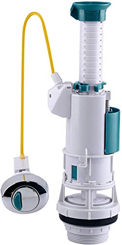 Kibath L361233 Mecanismo flotador universal para cisterna, Blanco