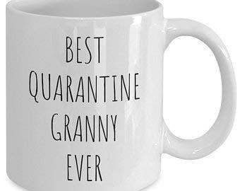 Regalo para abuelita | Mejor taza de café de cuarentena para abuelita | regalo de Navidad para abuelita | regalo de cuarentena para suegra