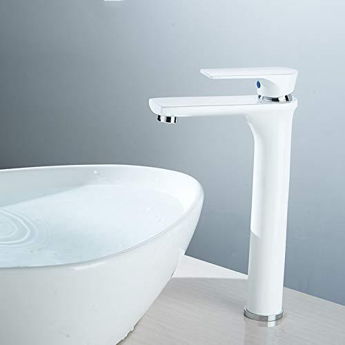 WHFDRHSLT wastafelkraan wit warm en koud water bakken leidingwater keuken kraan