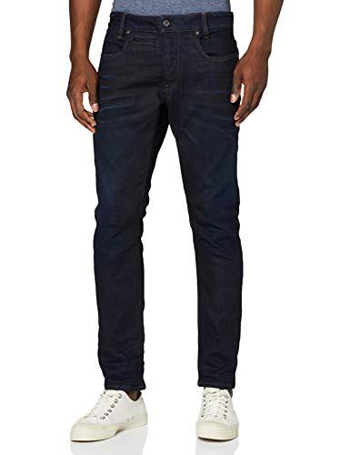 G-STAR RAW Herren Jeans D-staq 5-pocket Slim, Blau (Dk Aged 7209-89), 32W / 32L