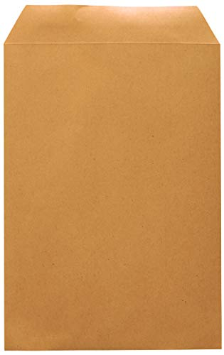 Idena 10229 - Versandtasche DIN C5, 90 g/m², selbstklebend, ohne Fenster, FSC-Recycled, natron-braun, 500 Stück