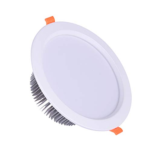 Led-plafondlamp, plafondlamp, downlight, hoteltechniek, robuust en mooi, lichtafbreekbaar, geen knipperen, meer energiebesparing. 15W B