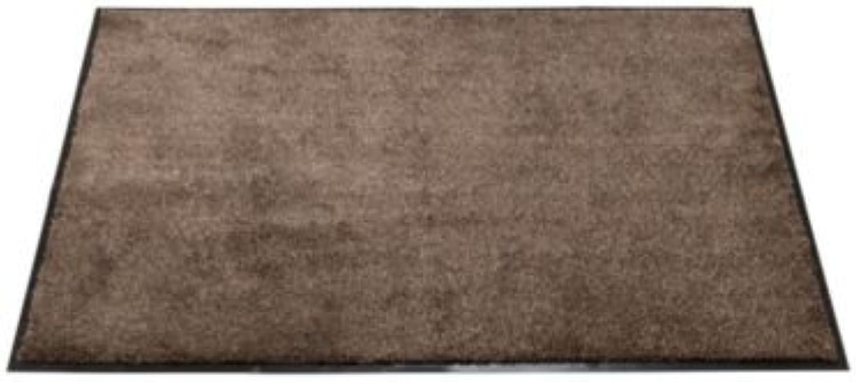 Lakeland Super Absorbent Floor & Door Mat Coffee - Medium 80 x 60cm