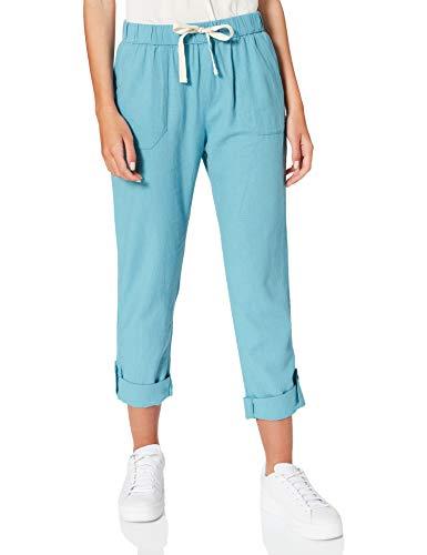 Roxy - Pantalón Cargo de Lino para Mujer