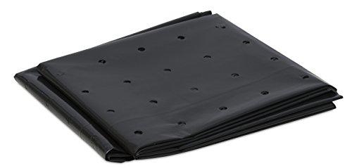 Windhager Komposter-Einlage, Komposterfolie, Komposterhüllen, 3 Stück, 90µm, schwarz, 1,2 x 1,75 m, 06748