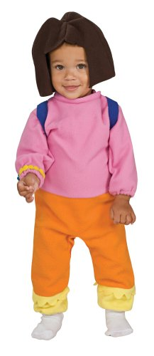 Nickelodeon Toddler Dora the Explorer, 1 to 6 Months Costume