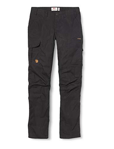Fjällräven Damen Karla Pro Trousers W Hose, Grau (Dark Grey 030), 36