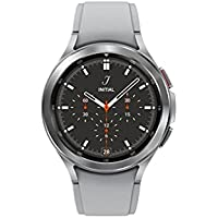 Samsung Galaxy 42mm Smartwatch with ECG Monitor Tracker for Health Fitness Running Sleep Cycles GPS Fall Detection Bluetooth US Version (Silver)