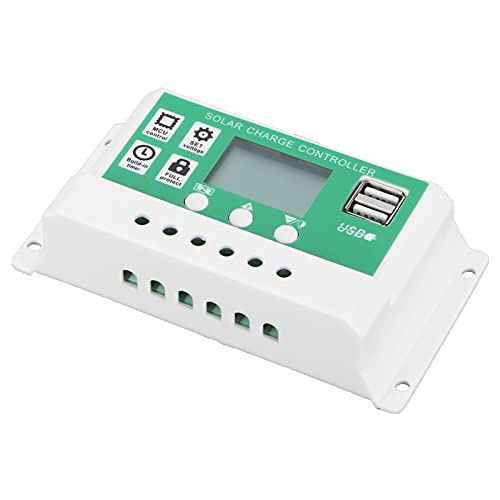 Regulador de batería Solar, 50A Regulador de batería Solar Ajustable Regulador de Carga Solar Regulador de Control Solar para Industrial para el hogar