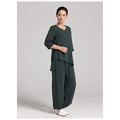 JINFAN Tai Chi Uniformes Femmes Kung Fu Vêtements Chinois Ar
