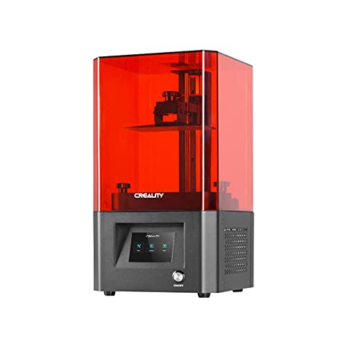 ASPZQ Creality LD-002H LCD Resin 3D Printer UV Photocuring 130 * 82 * 160mm Printing Size 2 With Air Filtration System Z-axis Linear Rail