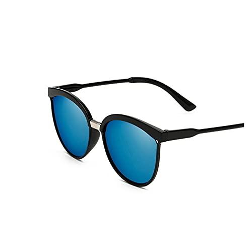 Gafas de sol negras para mujer, ojo de gato, gafas de sol para mujer, lente de color, espejo para mujer, gafas de sol, diseño de marca de moda, Oculos (lente dorada)