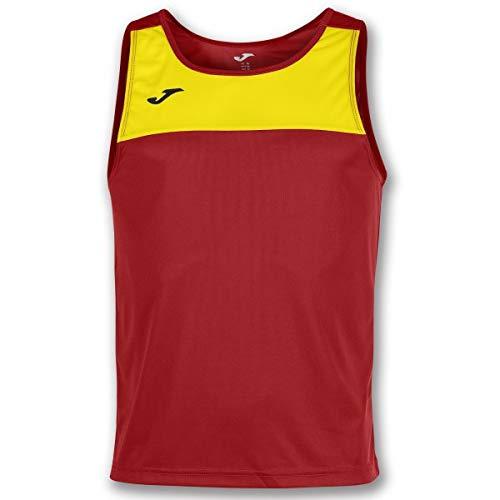 Joma Race Camisetas Caballero, Hombre, Rojo/Amarillo/m