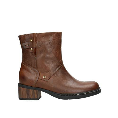 Wolky Comfort Stiefel Drayton - 30430 Cognac Leder - 38