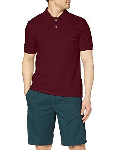 Trigema Herren Poloshirt , Rot (Sangria 089) , XXX-Large