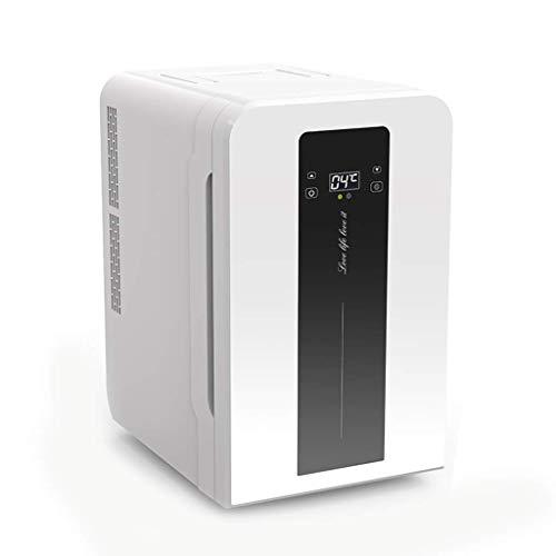 22L Digital Display Version Car koelkast, een koelkastje 12v 220v, Dual-core Refrigeration Household Small Cooler (Kleur: zwart en wit) LOLDF1