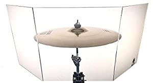 NEW! Cymbal Shield/Drum Shield - Decreasing Cymbal Volume Up Tp 40% (Large)