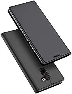 Xiaomi Pocophone F1 DUX DUCIS Skin Pro Series Flip Leather Case Cover - Grey