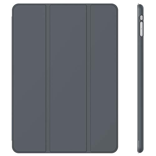 JETech Case for Apple iPad Mini 1 2 3 (NOT for iPad Mini 4), Smart Cover with Auto Sleep/Wake, Dark Grey