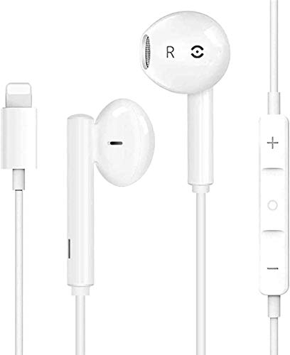 Earbuds Headphones Wired Headphones Earphones with Microphone and Volume Control, Compatible with iPhone Xs/XR/XS Max/iPhone 7/7plus 8/8plus /11/12/pro/se/remotecontrol