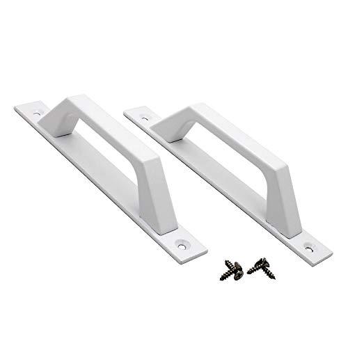 Poignée de porte en alliage d'aluminium à poignée de porte en aluminium de verre montée sur verre et en plastique de cuisine