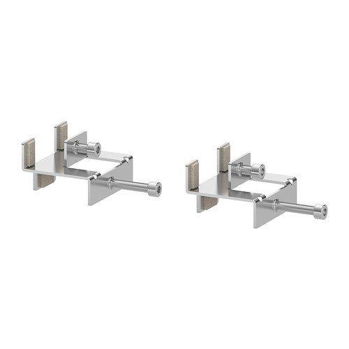 IKEA LINNMON Verbindungsstücke aus Stahl; verzinkt; 2 Stück