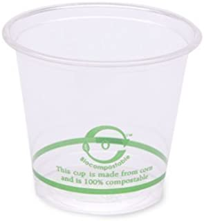 World Centric's 100% Biodegradable, 100% Compostable PLA 6oz Cold Cup (Package of 400)