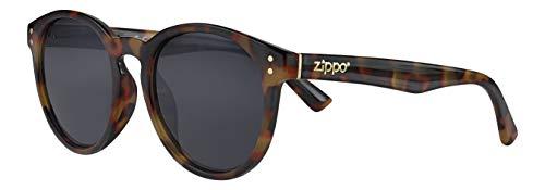 Zippo Herren Sunglasses UV400 Sonnenbrille, braun, Einheitsgröße