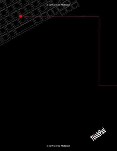 Thinkpad Notebook: Thinkpad Journal: X220, X230, X240, X250, X260, T440p, T420, T430 Notebook: Lenovo Thinkpad Notebook - 8.5x11 Inches - College ... White Paper - Black keyboard Glossy Design