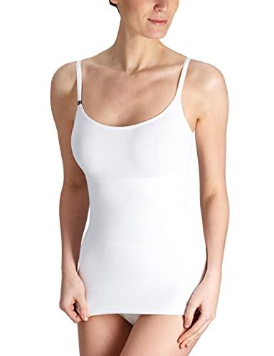 Triumph Damen Unterhemd Trendy Sensation Shirt 01, Weiß (WHITE), S