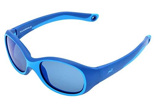Gamswild GAMSKIDS WK5121 - Gafas de sol para niños de 3 a 6 años aprox.