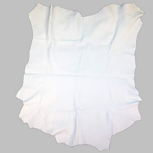 Glacier Wear Select Buckskin Leather - Bright White (8.00 to 8.75 sq ft)