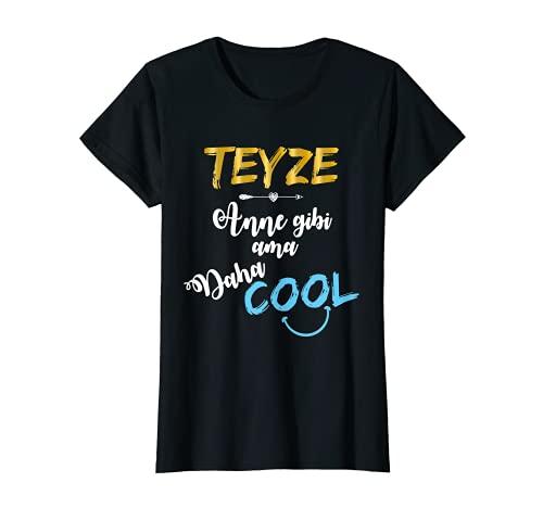 Lustiges Teyze Anne gibi ama daha Cool Türk Tante Geschenk T-Shirt
