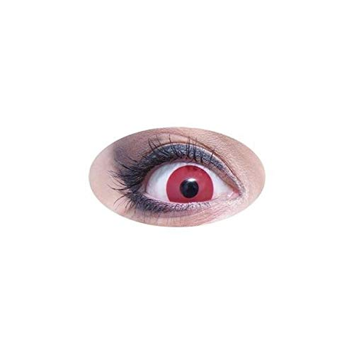 Ptit Clown - Paire de Lentilles de Contact Rouges - PLCRJPC840
