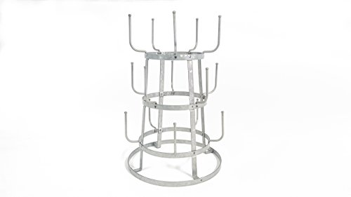 Galvanized Mug Rack