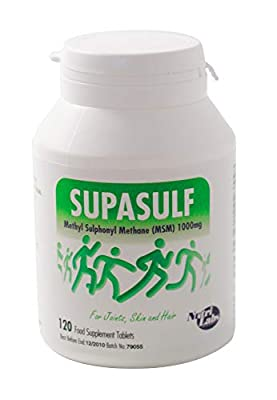 NUTRITIONAL LABORATORIES Supasulf Tablets 120tabs (PACK OF 1)