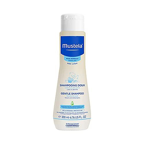 Mustela Gentle Baby Shampoo, White, 200ml